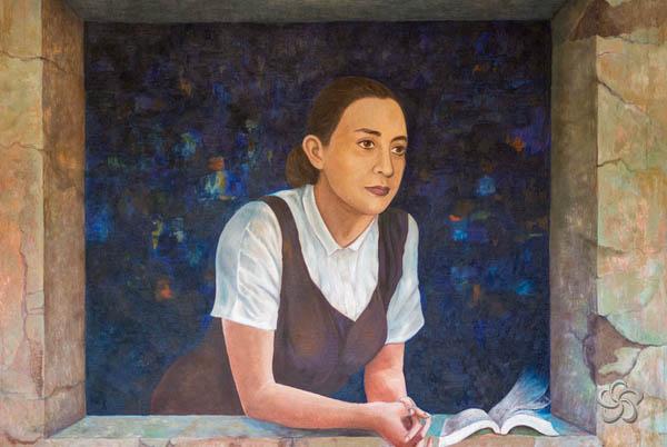"""Fragmento del Mural """"Alma de Comitán"""""""