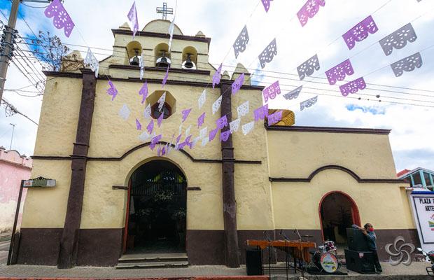 Fachada templo de jesusito