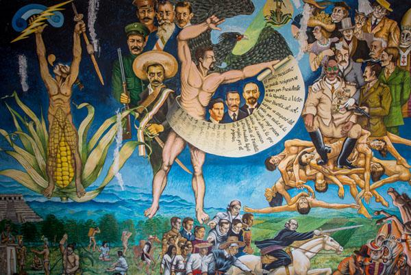 mural génesis comitan