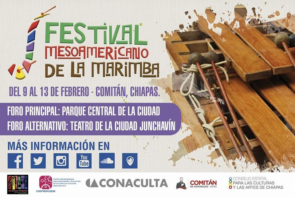 Festival Mesoamericano de la Marimba @ Parque Central | Comitán de Domínguez | Chiapas | México