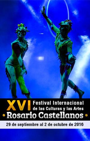 XVI Festival Internacional Rosario Castellanos @ Parque Central de Comitán