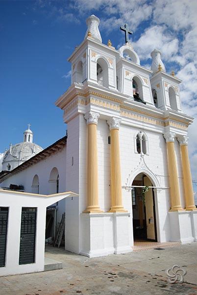 frontal del templo