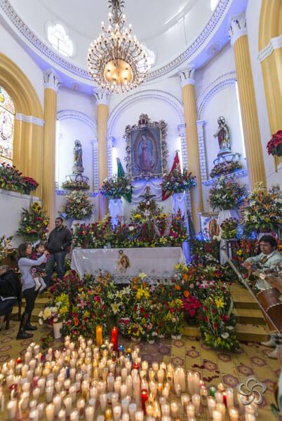 altar de guadalupe