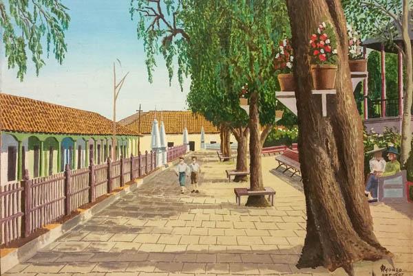 Pintura de Armando Alfonzo Alfonzo
